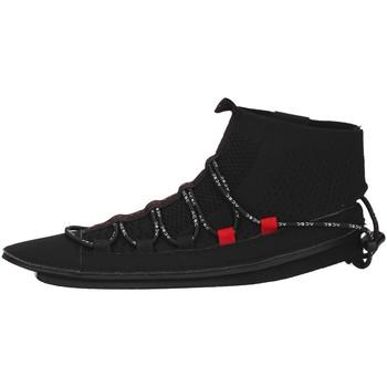 kengät Naiset Korkeavartiset tennarit Acbc SKLA107 BLACK