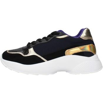 kengät Naiset Matalavartiset tennarit Gold&gold GA136 BLACK