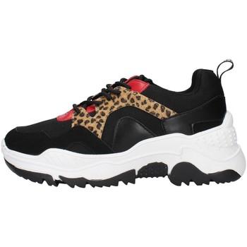 kengät Naiset Matalavartiset tennarit Gold&gold GS35 BLACK