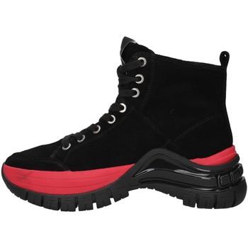 kengät Naiset Korkeavartiset tennarit Calvin Klein Jeans B4R0763 BLACK