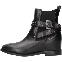 kengät Naiset Nilkkurit Albano 1222 BLACK