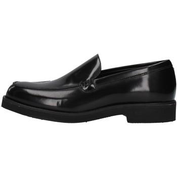 kengät Miehet Mokkasiinit Gino Tagli 650MIC BLACK