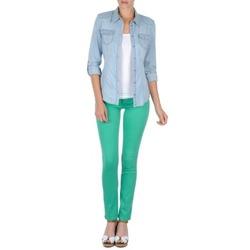 vaatteet Naiset 5-taskuiset housut Cimarron CASSIS Green