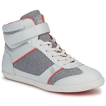 kengät Naiset Korkeavartiset tennarit Dorotennis MONTANTE VELCRO Grey