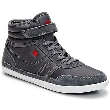 kengät Naiset Korkeavartiset tennarit Dorotennis MONTANTE STREET VELCROS Grey