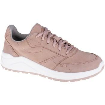 kengät Naiset Matalavartiset tennarit 4F OBDL250 Valkoiset, Vaaleanpunaiset