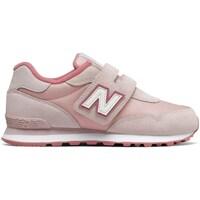 kengät Tytöt Matalavartiset tennarit New Balance 515 Vaaleanpunaiset