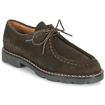 kengät Miehet Derby-kengät Pellet Macho Harmaa