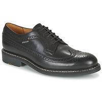 kengät Miehet Derby-kengät Pellet NORMAN Musta