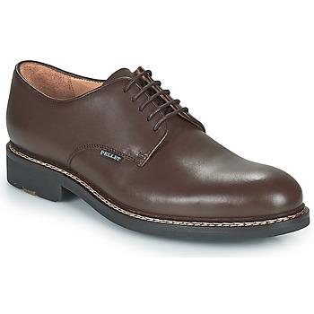 kengät Miehet Derby-kengät Pellet Nautilus Ruskea