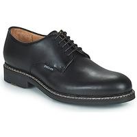 kengät Miehet Derby-kengät Pellet Nautilus Musta