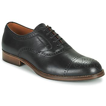 kengät Miehet Derby-kengät Pellet ABEL Musta
