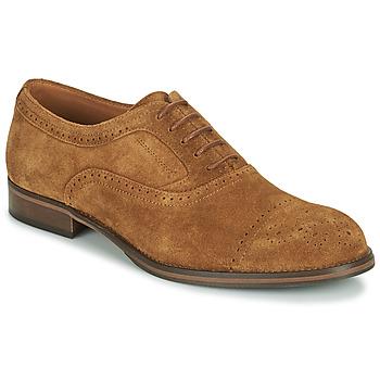 kengät Miehet Derby-kengät Pellet ABEL Ruskea