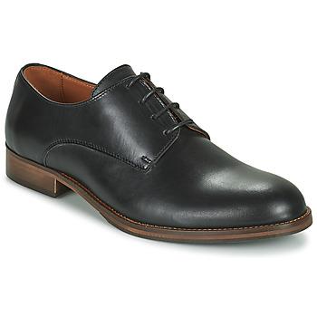 kengät Miehet Derby-kengät Pellet ADRIEN Musta