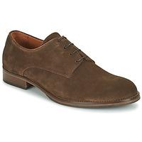 kengät Miehet Derby-kengät Pellet ADRIEN Ruskea
