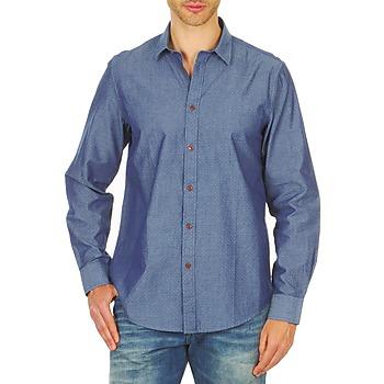 vaatteet Miehet Pitkähihainen paitapusero Ben Sherman BEMA00490 Blue