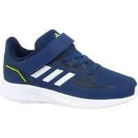 kengät Lapset Derby-kengät & Herrainkengät adidas Originals Runfalcon 20 Tummansininen