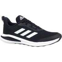 kengät Lapset Juoksukengät / Trail-kengät adidas Originals Fortarun Mustat