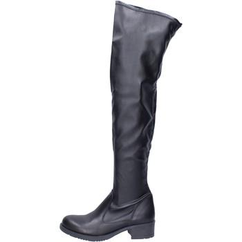 kengät Naiset Ylipolvensaappaat Liu Jo Saappaat BJ799 Musta
