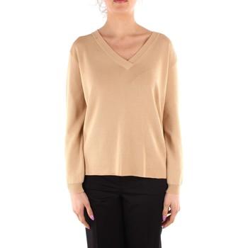 vaatteet Naiset Neulepusero Friendly Sweater C210-659 WHITE