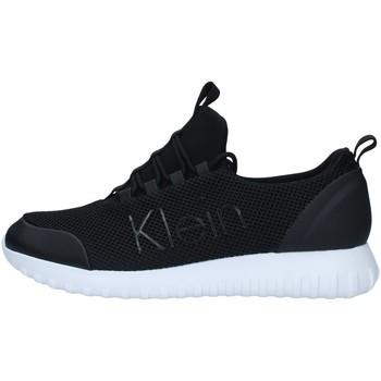 kengät Miehet Matalavartiset tennarit Calvin Klein Jeans YM0YM00085 BLACK