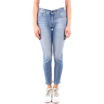 vaatteet Naiset Slim-farkut Calvin Klein Jeans K20K202837 BLUE