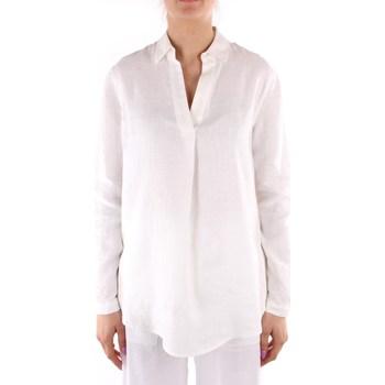 vaatteet Naiset Paitapusero / Kauluspaita Calvin Klein Jeans K20K202747 WHITE