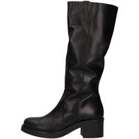 kengät Naiset Ylipolvensaappaat Unica 10187 BLACK