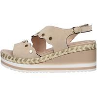 kengät Naiset Sandaalit ja avokkaat Melluso R70742 BEIGE