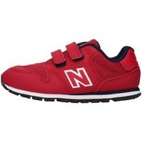 kengät Pojat Matalavartiset tennarit New Balance IV500RR RED