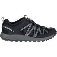 kengät Miehet Matalavartiset tennarit Merrell Wildwood Aerosport Harmaat, Grafiitin väriset