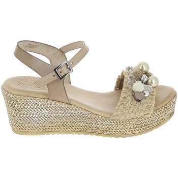 kengät Naiset Sandaalit ja avokkaat Porronet Sandale F12646 Taupe Harmaa