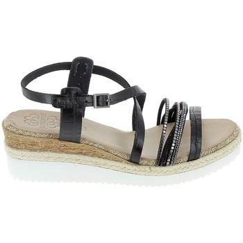 kengät Naiset Sandaalit ja avokkaat Porronet Sandale F12632 Noir Musta