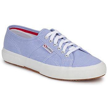 kengät Matalavartiset tennarit Superga 2750 COTUSHIRT Blue / CLAIR