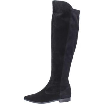 kengät Naiset Ylipolvensaappaat Carmens Padova Saappaat BJ811 Musta