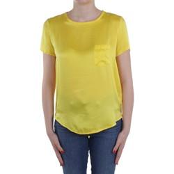 vaatteet Naiset Topit / Puserot Manila Grace C335SU Yellow
