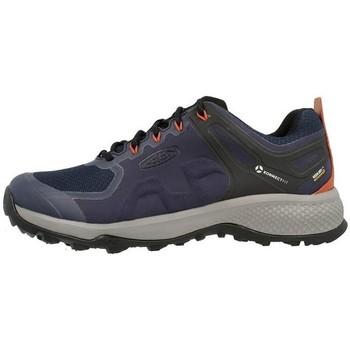 kengät Miehet Juoksukengät / Trail-kengät Keen Explore WP Mustat, Tummansininen