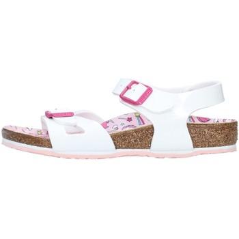 kengät Tytöt Sandaalit ja avokkaat Birkenstock 1018864 WHITE