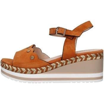 kengät Naiset Sandaalit ja avokkaat Melluso R70740 BEIGE