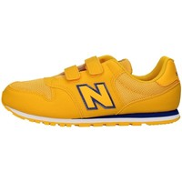 kengät Tytöt Matalavartiset tennarit New Balance YV500CG GOLD