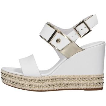 kengät Naiset Sandaalit ja avokkaat NeroGiardini E012450D WHITE