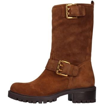 kengät Naiset Saappaat Albano 1211 BROWN