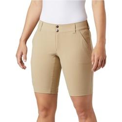 vaatteet Naiset Shortsit / Bermuda-shortsit Columbia Saturday Trail Long Short Beige
