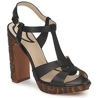 kengät Naiset Sandaalit ja avokkaat Etro NU-PIEDS 3763 Black