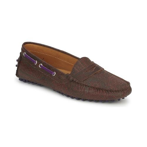 kengät Naiset Mokkasiinit Etro MOCASSIN 3706 Violet