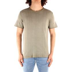 vaatteet Miehet Lyhythihainen t-paita Blauer 21SBLUM01319 GREEN
