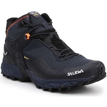 kengät Miehet Korkeavartiset tennarit Salewa MS Ultra Flex 2 Mid Gtx Grafiitin väriset
