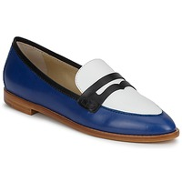 kengät Naiset Mokkasiinit Etro MOCASSIN 3767 Blue / Black / White