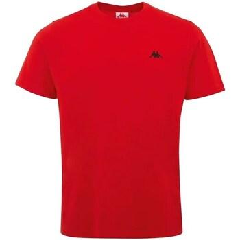 vaatteet Miehet Lyhythihainen t-paita Kappa Iljamor Punainen