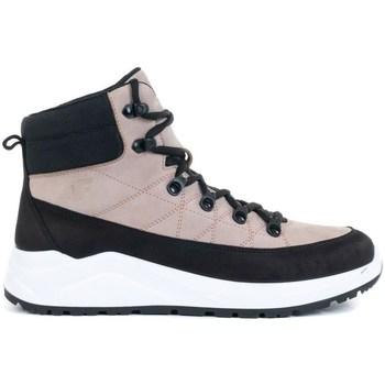 kengät Naiset Korkeavartiset tennarit 4F OBDH252 Mustat, Vaaleanpunaiset